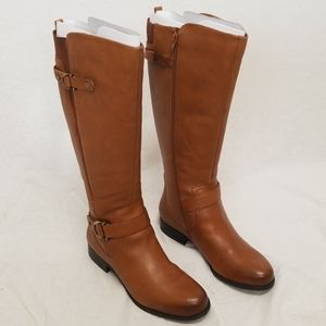 Naturalizer Jillian Leather Riding Boots